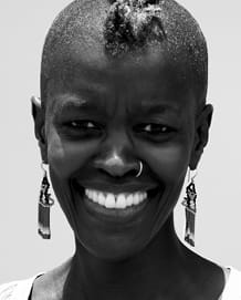 Joy Mboya. This image is not available under the 4.0 Creative Commons license.