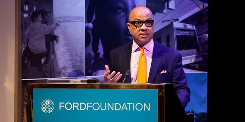 Welcome remarks from Darren Walker. 2012. This image is not available under 4.0 Creative Commons license.