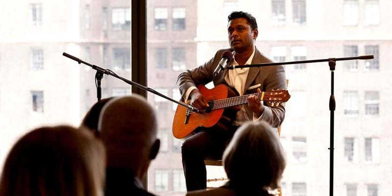 Vaneshran Arumugam in Performance. 2013. This image is not available under the 4.0 Creative Commons license.