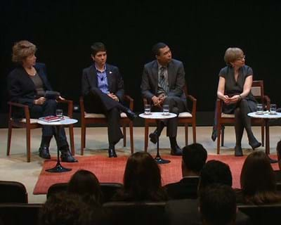 The Road to Equity Panelists. 2013. This image is not available under the 4.0 Creative Commons license.