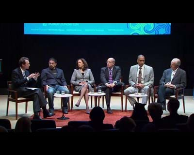 A discussion moderated by John Palfrey. 2012. This image is not available under the 4.0 Creative Commons license.