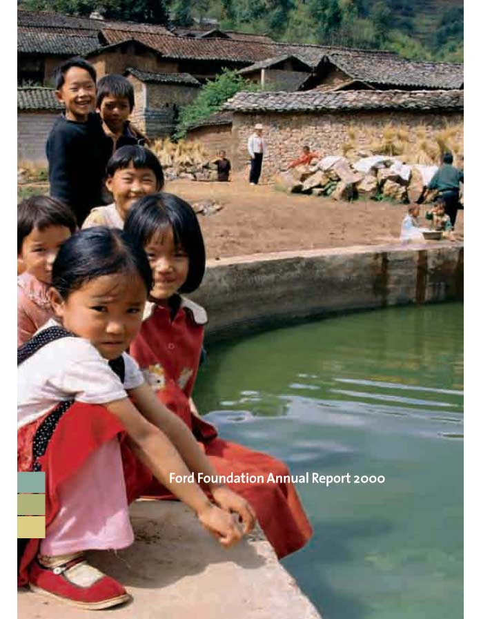 Ford Foundation Annual Report 2000