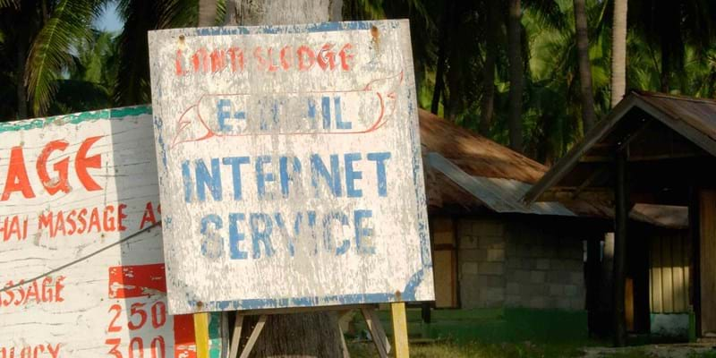 Internet available sign.  This image is not available under the 4.0 Creative Commons license.