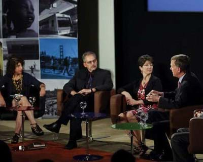 A discussion with moderator Andrea Bernstein. 2011. This image is not available under the 4.0 Creative Commons license.