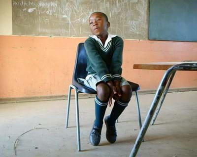 In Southern Africa's Eastern Cape, Legal Resources Centre is ensuring that the country's progressive constitution provides two fundamental things to students: desks and chairs. This image is not available under the 4.0 Creative Commons license.