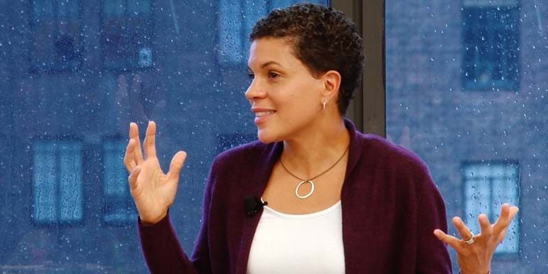 Michelle Alexander speaks to Ford Foundation staff. New York. 2015. Photo Credit: Ford Foundation