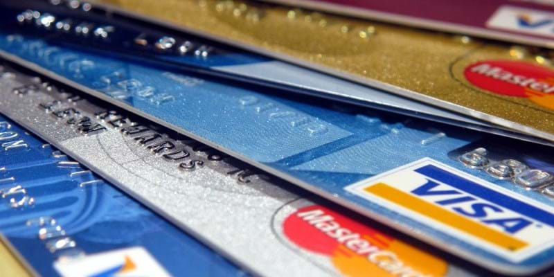 Close up stack of credit cards. Photo credit: Flickr user frankieleon https://www.flickr.com/photos/armydre2008/