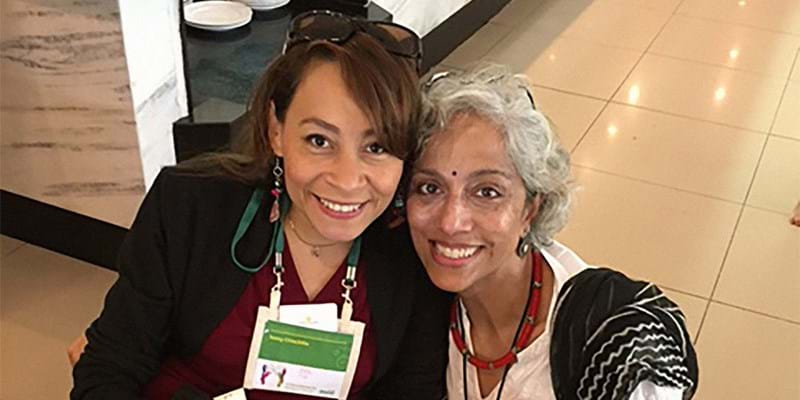 Kavita Ramdas at the the Association for Women's Rights in Development's annual forum. Bahia, Brazil. 2016. Photo credit: Ford Foundation