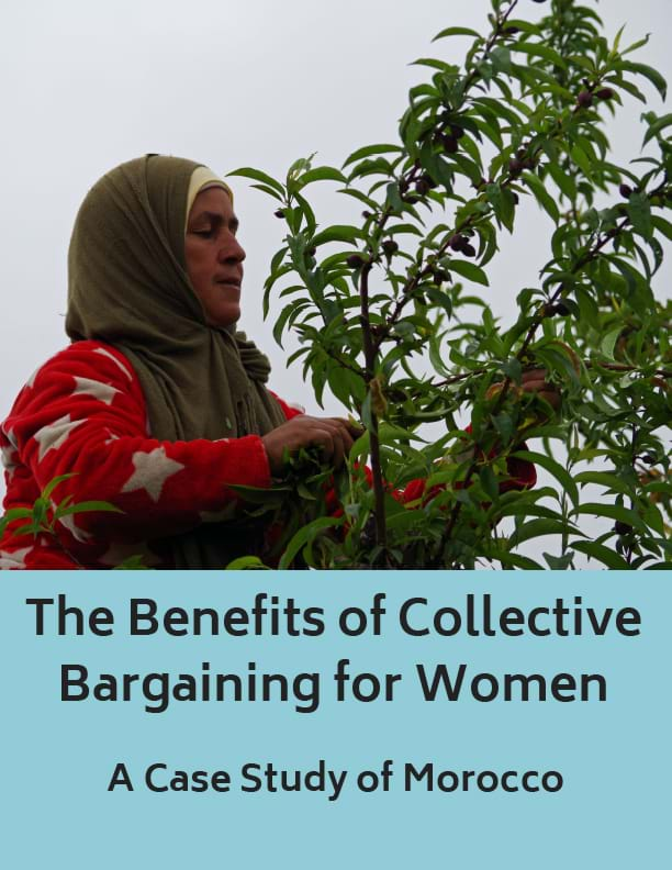 The Benefits of Collective Bargaining for Women: A Case Study of Morocco