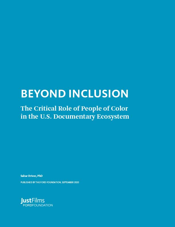 Cover of Beyond Inclusion report.