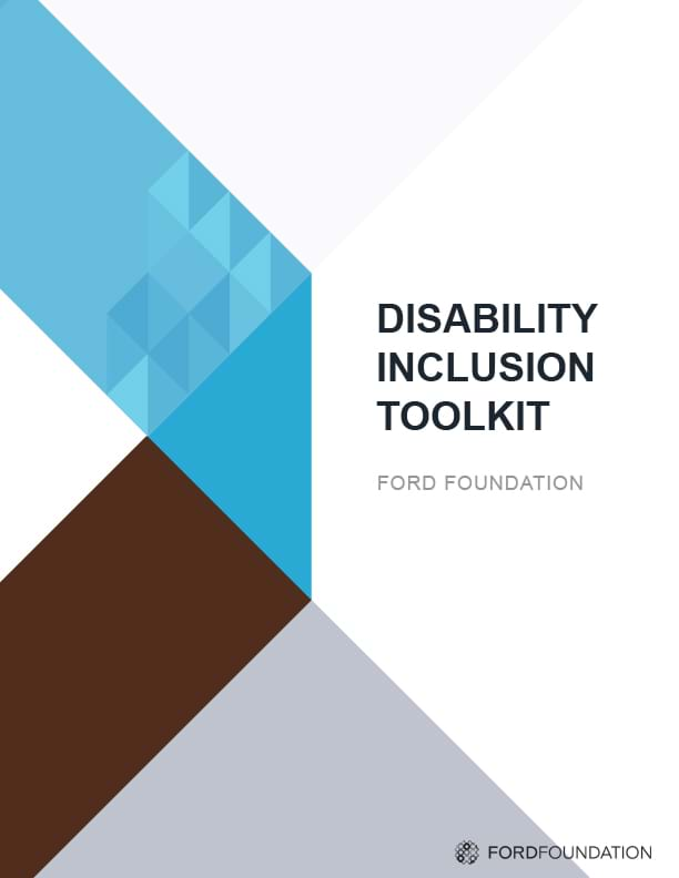 Disability Inclusion Toolkit report cover